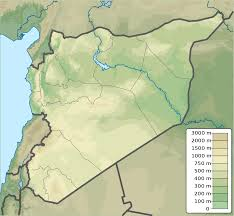 Homs Syria Map by Second Battle Of The Shaer Gas Field Wikipedia