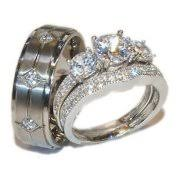engagement rings sets wedding ring sets walmart