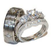 his and wedding ring set wedding ring sets walmart