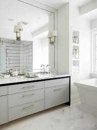 Beveled Mirror Bathroom Beveled Bathroom Vanity Mirror Home Design Ideas And Pictures