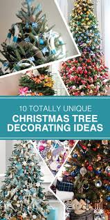 Unique Christmas Decorating Ideas 10 Totally Unique Christmas Tree Decorating Ideas Studio M Blog
