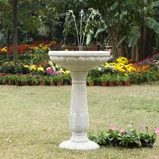 fresh solar bird bath fountain uk 13430
