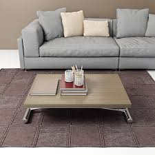 Designer Coffee Tables by Contemporary Coffee Table Metal Stained Wood Melamine