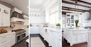 white kitchen ideas 46 best white kitchen cabinet ideas for 2018