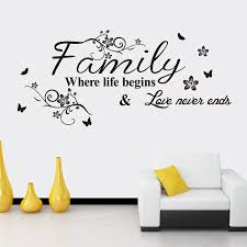 quote garden family aliexpresscom buy home garden family wall art quote wall blog