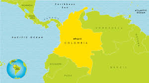 Map Of Columbia 38 Colombia