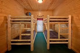 Cabin Bunk Beds 7 Bedroom Pigeon Forge Cabin Pigeon Forge Cabin