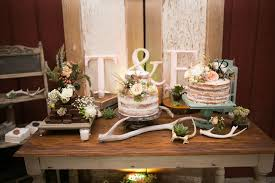 Wedding Cake Display Rustic Wedding Cake Display
