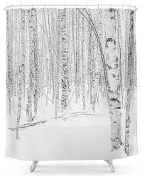 tree shower curtain interior design