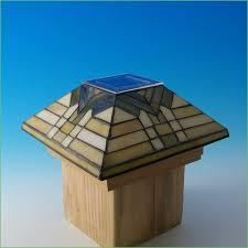 lighting 6x6 copper solar post cap lights solar post cap lights