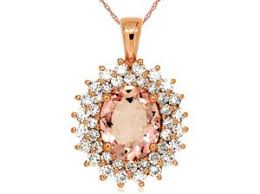 Name Jewelry Diamond U0026 Morganite Pendant Joe U0027s Jewelryjoe U0027s Jewelry