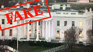 donald trump home fake donald trump did not flash the white house lights for fox news