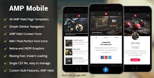 amp templates from themeforest