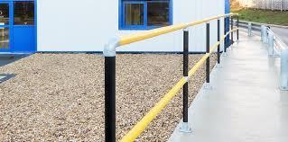 Galvanised Handrail Handrail System Gradus Contract Interior Solutions