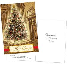 boxed christmas cards christmas tree by fireplace boxed christmas cards boxed