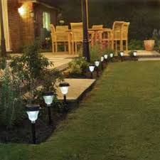 garden lights exposing landscape mystery and intrigue