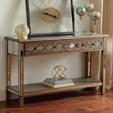 Mirror Console Table Chagne Mirrored Console Table Kirklands