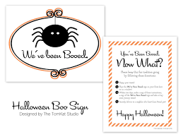 boo halloween poem free printable boo sign designs the tomkat studio blog