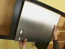 Metal Kitchen Cabinet Doors Stainless Kitchen Cabinet Door Diy