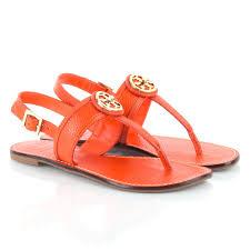tory burch orange selma sling back women u0027s sandal