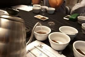 a cupping with mostra coffee u2014 san diego coffee network