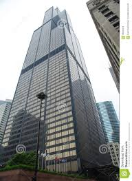 willis tower sears tower close up in downtown chicago the 2nd