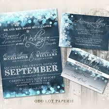 Snowflake Wedding Invitations Best Winter Wonderland Invitations Products On Wanelo