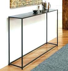 Glass Entry Table Iron Console Table Console Table Nickel Finish Wrought