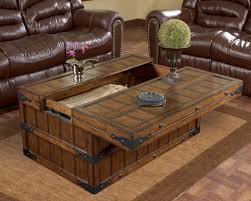 oak coffee table with storage coffee tables thippo