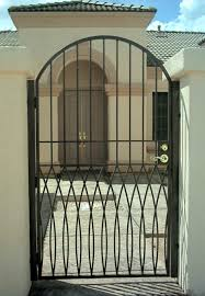 Awesome Image Home Exterior Design With Beautiful Iron Gates Engaging Home Entrance Design And