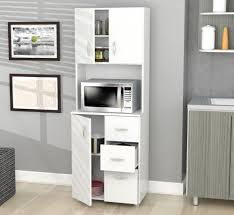 white storage cabinet for kitchen inval america gcm 043 kitchen storage cabinet in laricina white