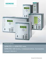 siprotec catalogue siemens energy relay electrical substation