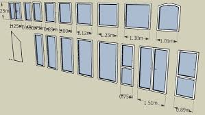 sketchup components 3d warehouse zeichensystem window