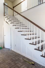 how to add a closet with a hidden door under a staircase in my