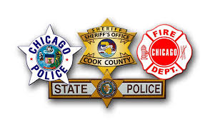 Chicago Flag Star Chicago Cop Shop Offering Chicago Police Fire And Movie Related