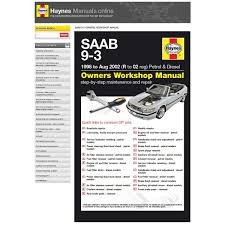 haynes manuals online saab 9 3 supercheap auto