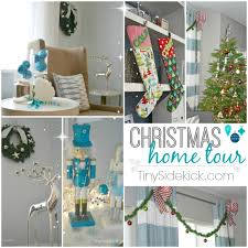 Homes Decorated For Christmas Christmas Home Tour Winter Wonderland Christmas Decor