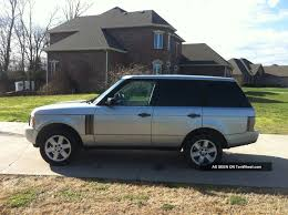 range rover silver interior awesome 2003 land rover range rover hse for interior designing