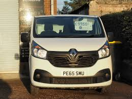 renault van 2017 2015 65 renault trafic 1 6 dci sl27 business low roof van 5dr 6