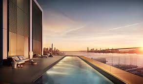 penthouses in new york go swimming in a sky pool penthouses revealed at 551 west 21st st