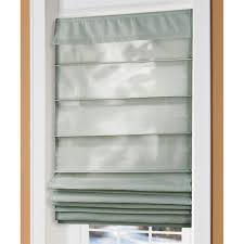 easy glide insulated roman shades 217460 curtains at