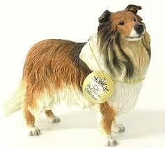 coated collie ornament leonardo collie dogs