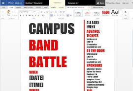 free event poster templates word template for making printable party and event flyers