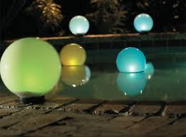 solar powered garden mood lighting globe sphere lights indoor