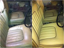 roll royce leather what a transformation we made to this classic rolls royce car