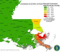 Louisiana Maps by Iser Hurricane Katrina