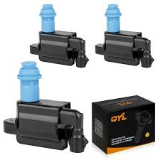 lexus sc300 no spark amazon com qyl pack of 3 ignition coils for lexus toyota 3 0l v6