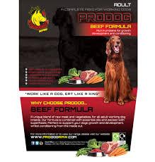 prodog raw food diet for puppies uk prodog raw dog food for barf