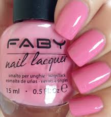 don u0027s nail obsession faby nail lacquer pink shades swatches