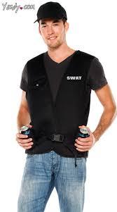 Swat Halloween Costume Swat Commander Vest Men U0027s Swat Team Costume Men U0027s Halloween Swat